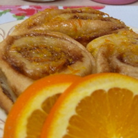 Off to Sweden! – Cinnamon Rolls with an Orange Glaze