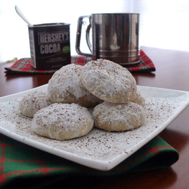 Day 3 – Hazelnut Snowball Cookies