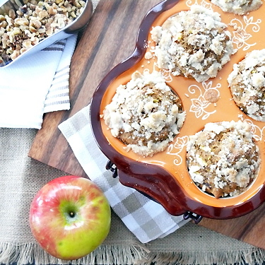 Apple and Carrot Spice Muffins