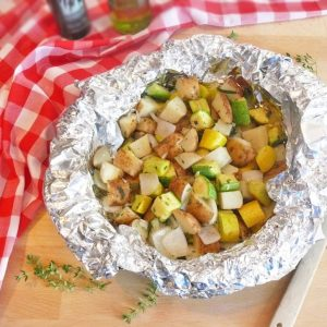 """On the Grill"" Potatoes and Veggies"