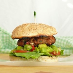 Thai Curry Turkey Burgers