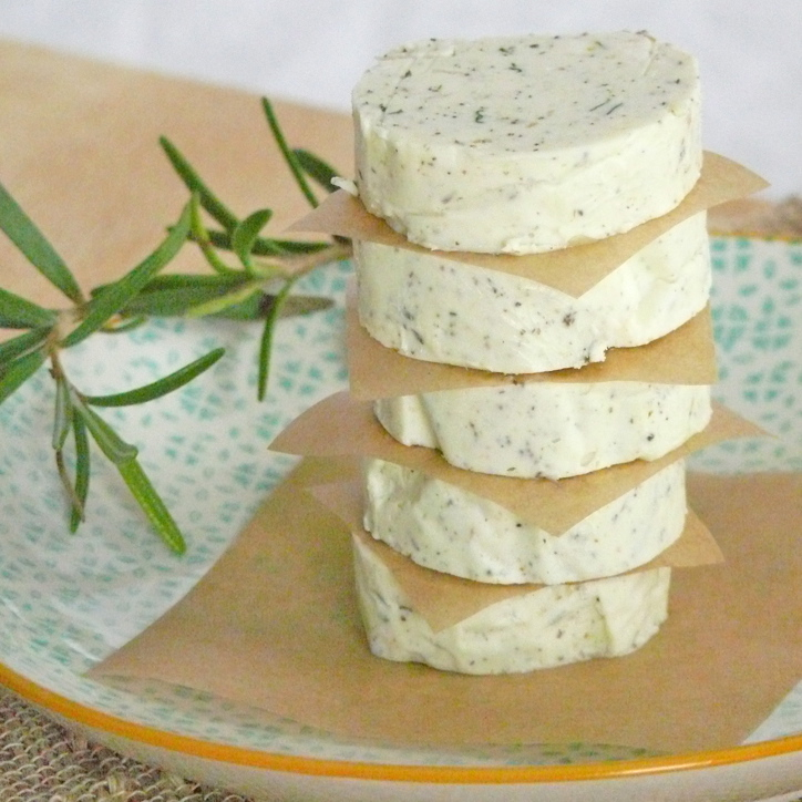 Roasted Garlic and Herb Butter