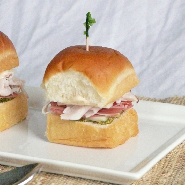 Mini Italian Sandwiches with Garlic Aioli – Tailgating Recipes Version 5