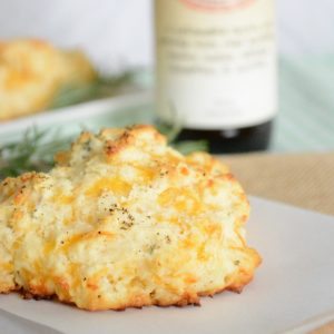 Rosemary and Cheddar Drop Biscuits