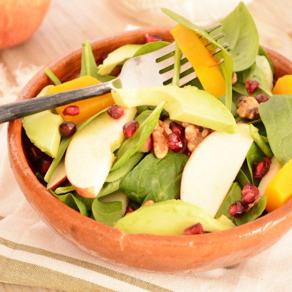 Autumn Salad with Butternut Squash