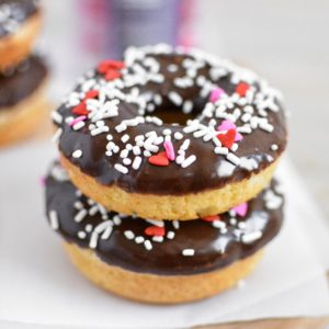 Chocolate-Glazed Baked Donuts
