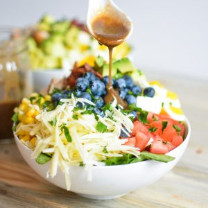 Chopped Chicken Cobb Salad