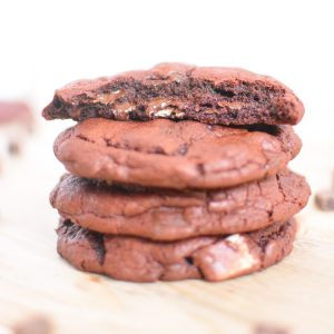 Mint Chocolate Chunk Monster Cookies