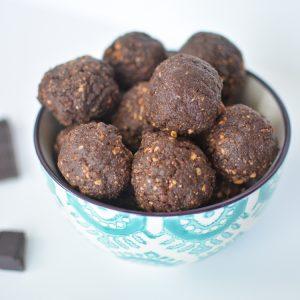 Chocolate Hazelnut Orange Balls