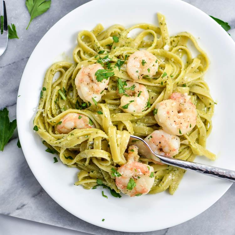 Pesto pasta recipes with shrimp – Food ideas recipes
