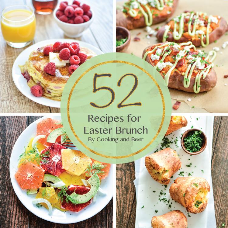 52 Recipes For Easter Brunch