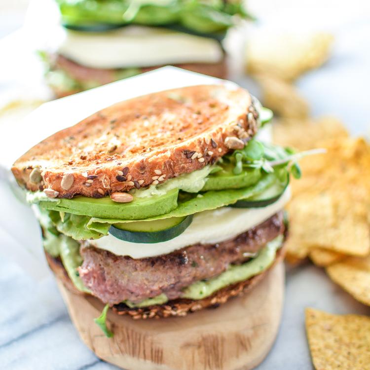 Green Goddess Burgers