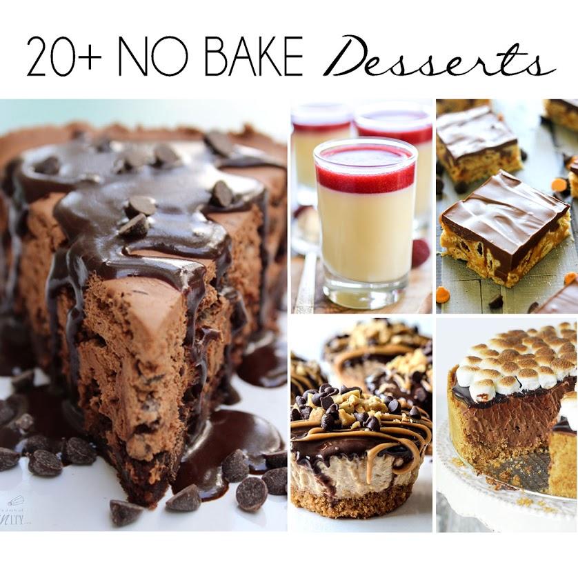 20+ No Bake Desserts for Summer