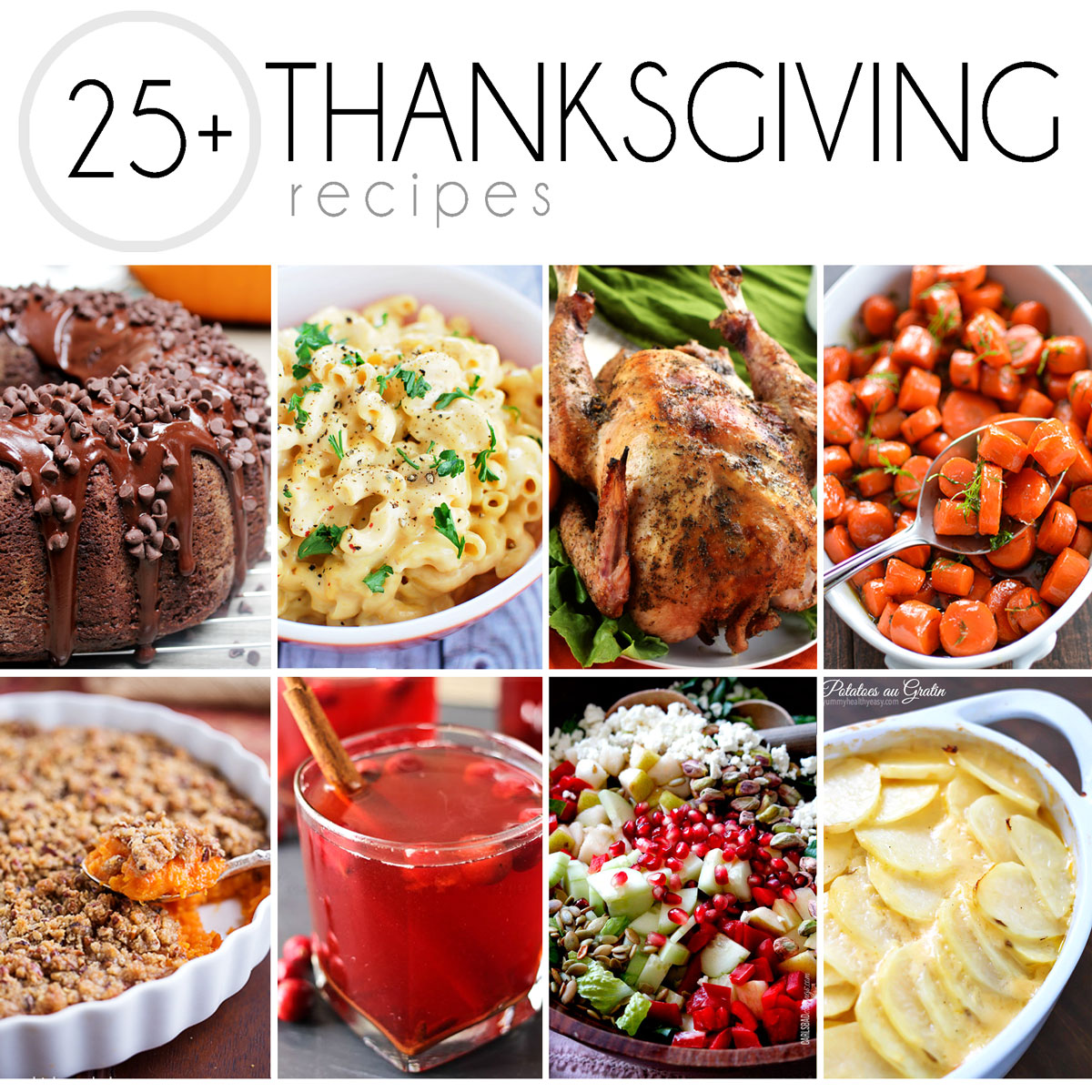 25+ Thanksgiving Recipes