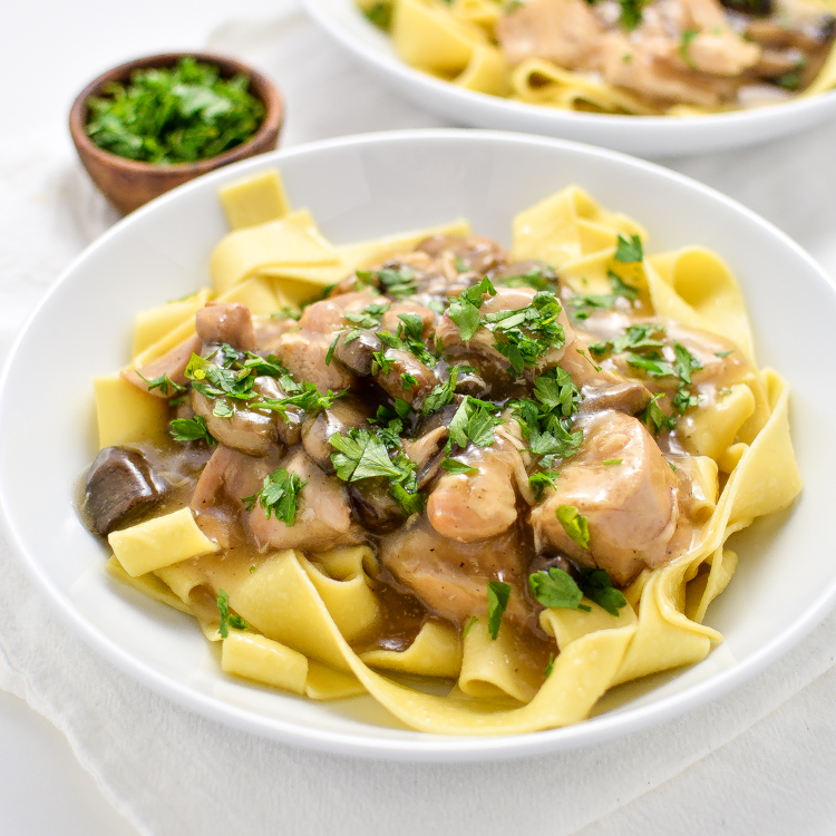 Slow cooker chicken marsala stew for Slow cooker fish stew