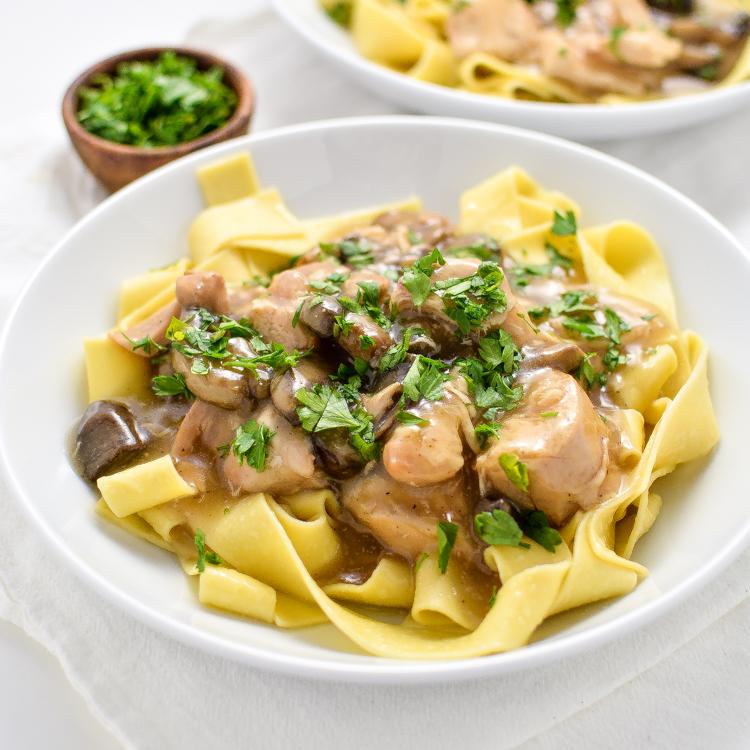 Slow Cooker Chicken Marsala Stew