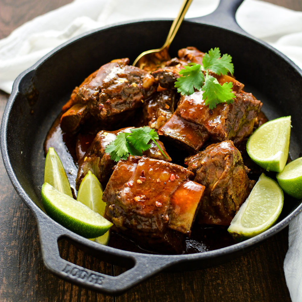 Citrus and Chili Braised Beef Short Ribs