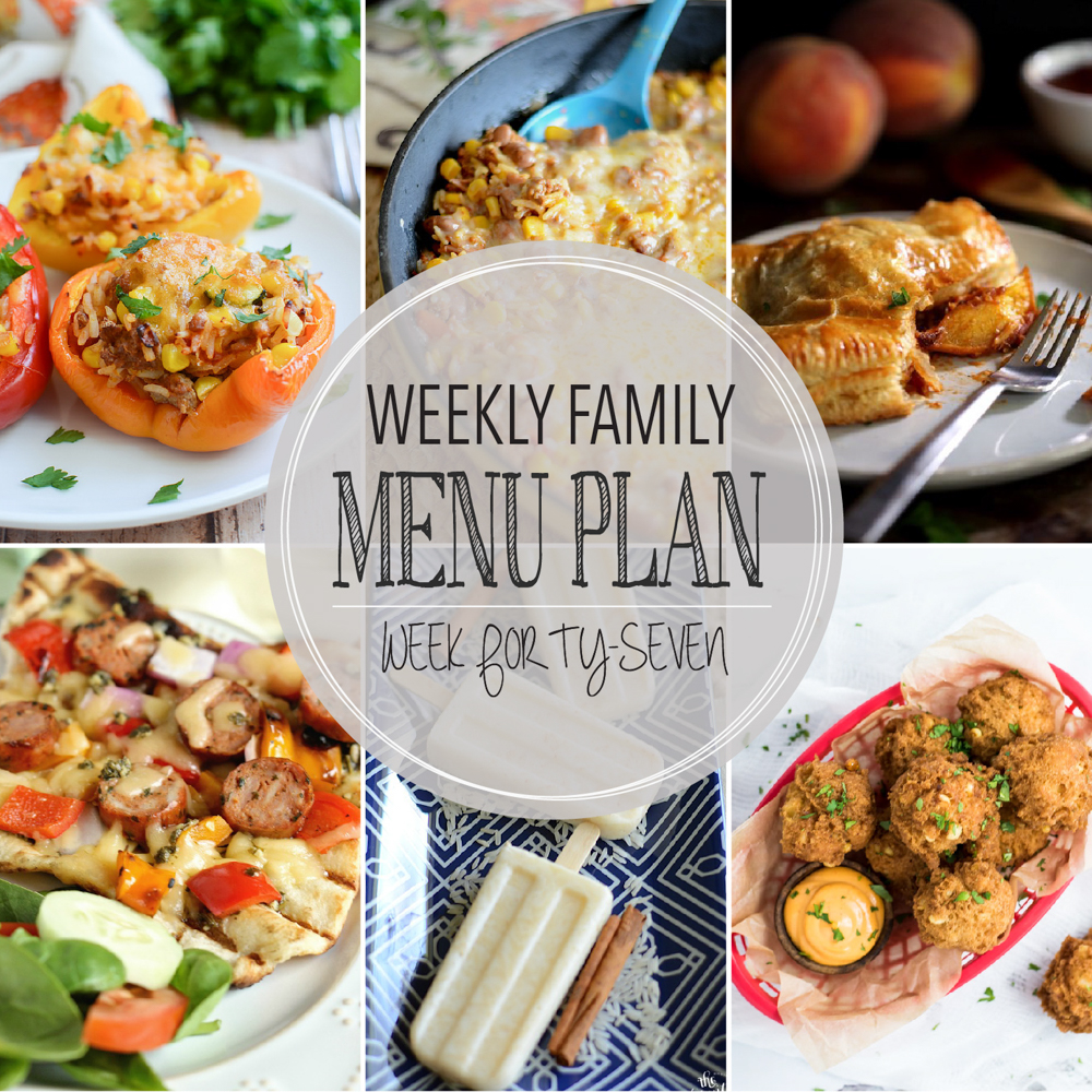 Weekly Family Menu Plan – Week Forty-Seven
