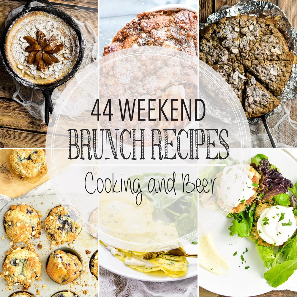 44 Weekend Brunch Recipes