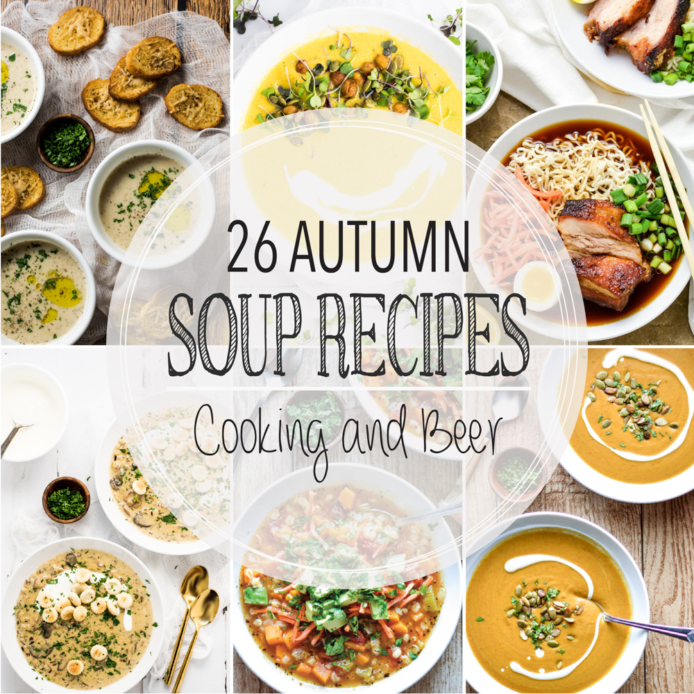 26 Autumn Soup Recipes