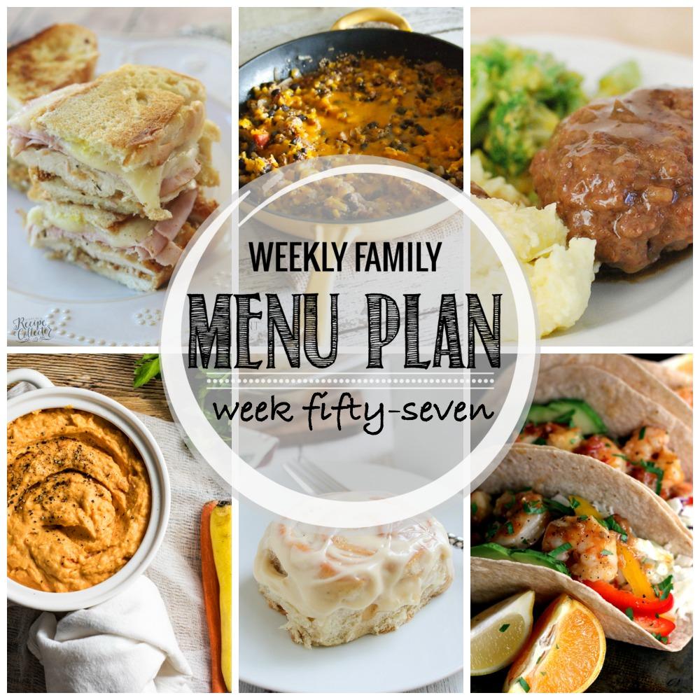 Weekly Family Menu Plan – Week Fifty-Seven