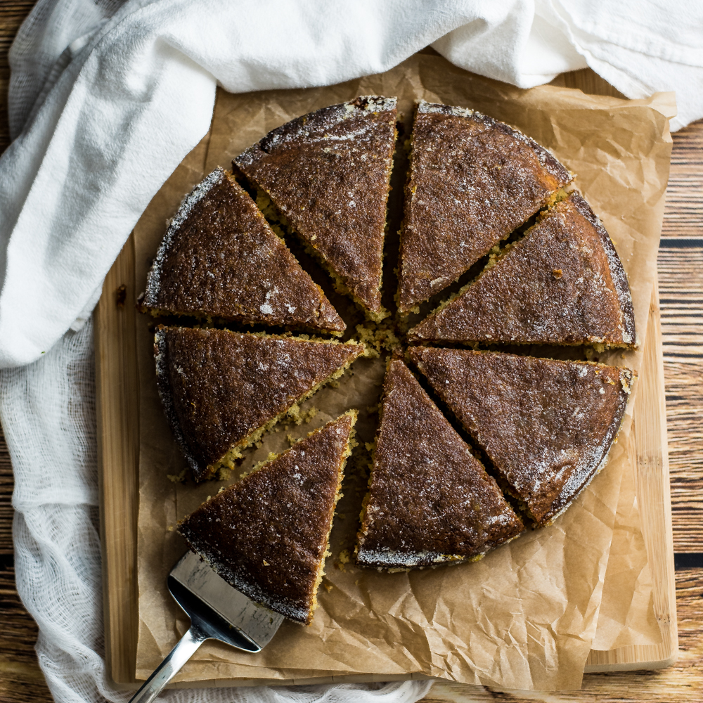 Autumn Citrus Crunch Cake Recipe
