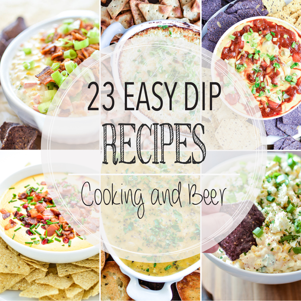 23 Easy Dip Recipes