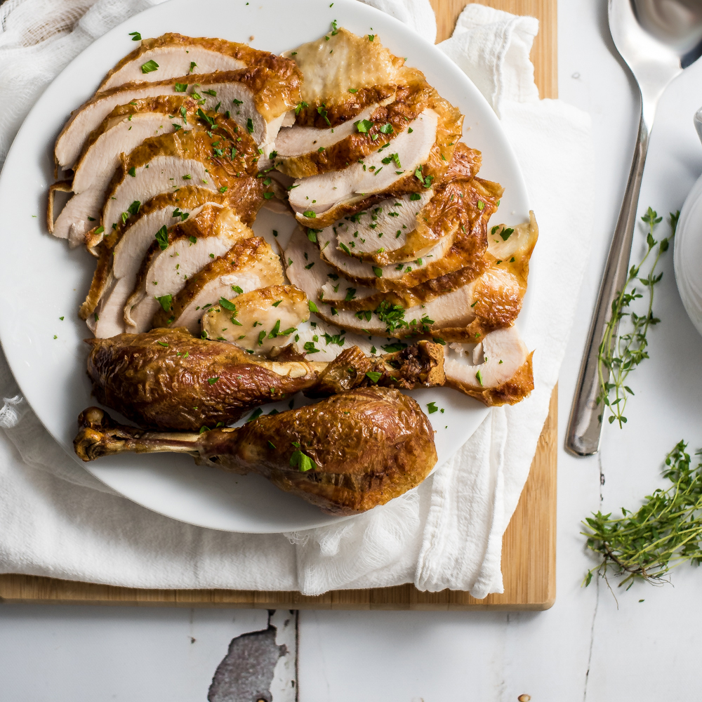 Maple Bourbon Tamarind Roast Thanksgiving Turkey