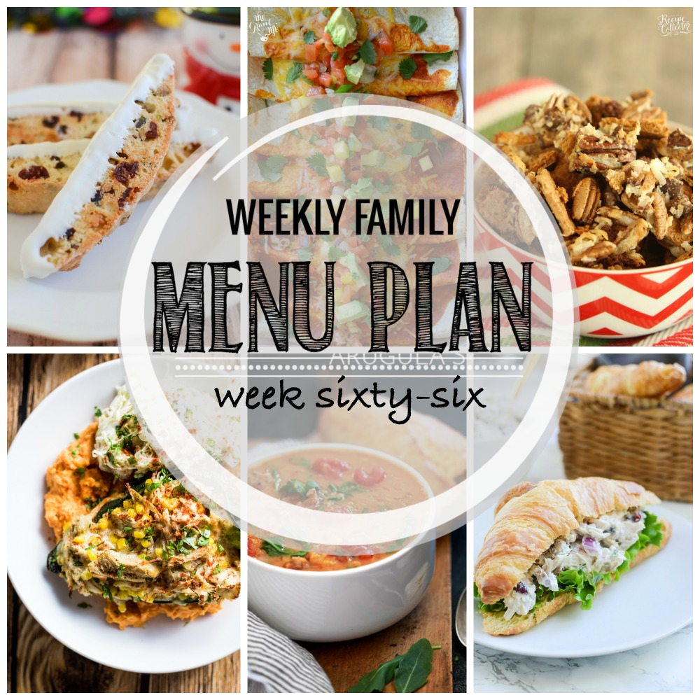 Weekly Family Menu Plan – Week Sixty-Six