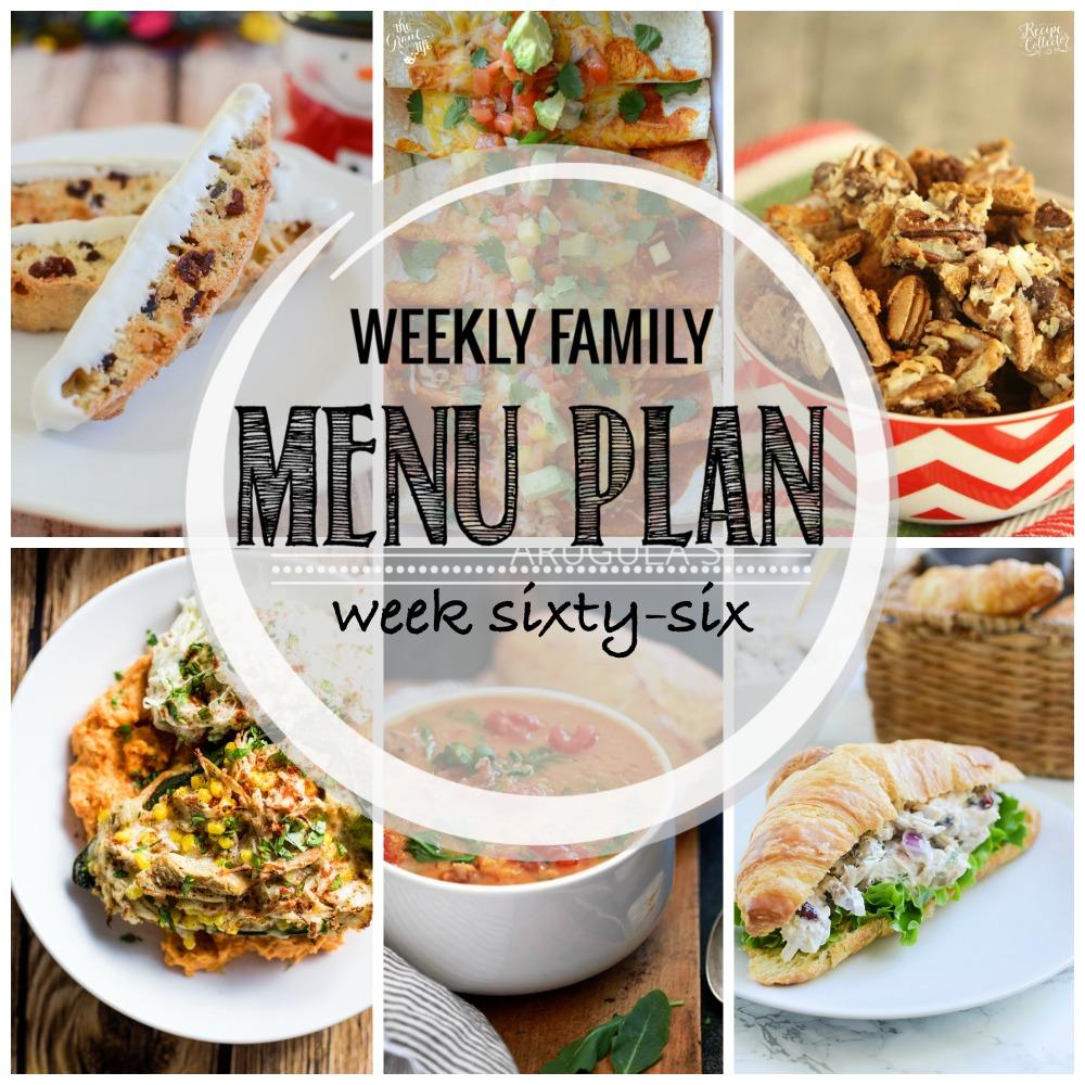 Weekly Family Menu Plan – Week Sixty-Six