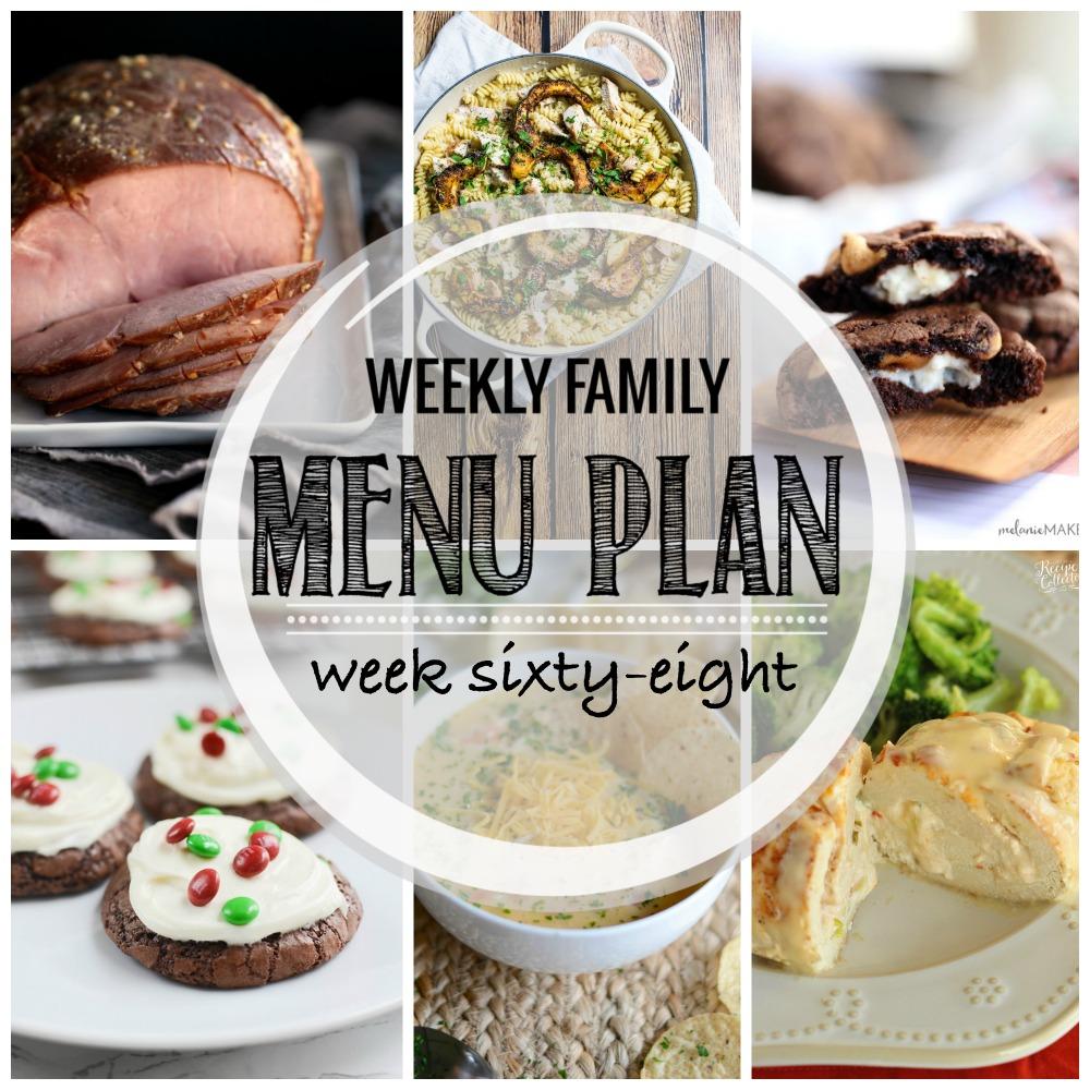 Weekly Family Menu Plan – Week Sixty-Eight