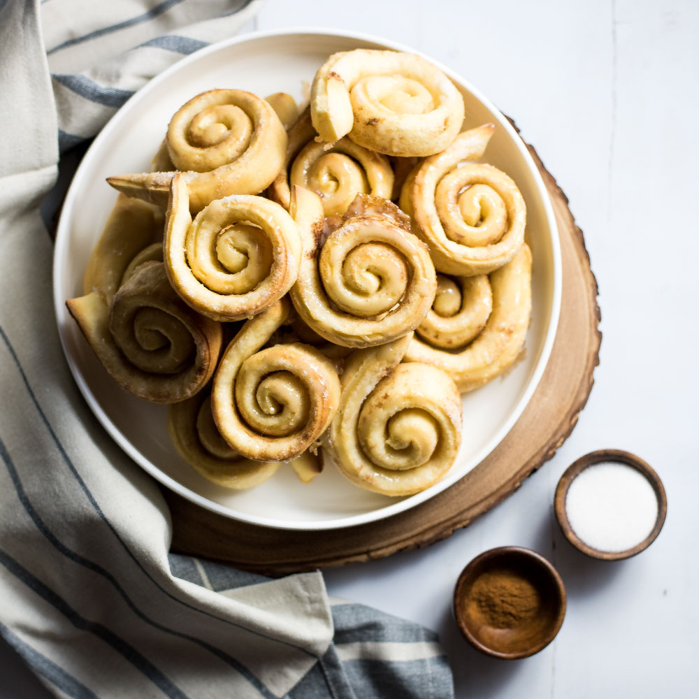 Homemade Cardamom Honey Buns