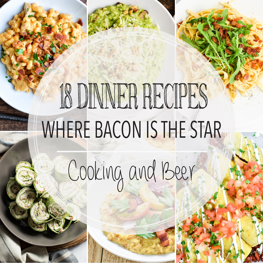 18 Dinner Recipes Where Bacon is the Star