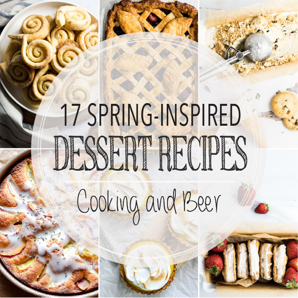 17 Spring-Inspired Dessert Recipes