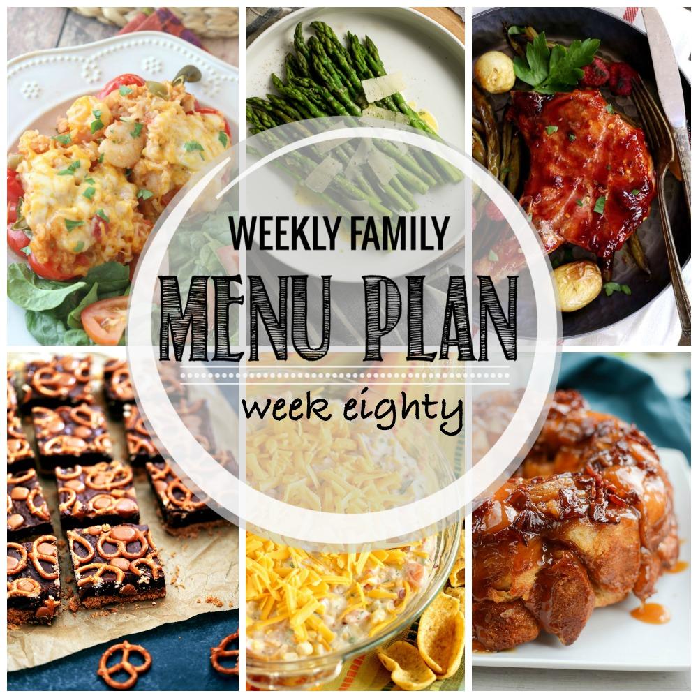 Weekly Family Menu Plan – Week Eighty