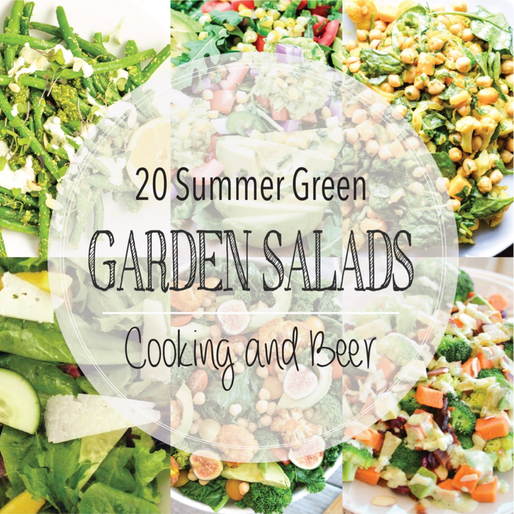 20 Summer Green Garden Salads